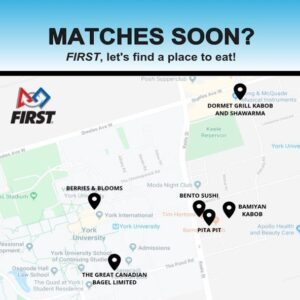 Matches Soon- Map of healthy eating restaurants