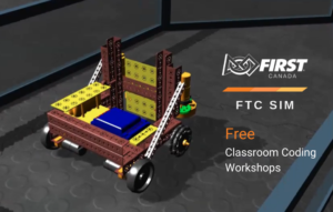FIRST Canada FTC SIM Free Coding Workshops FTC animated Robot