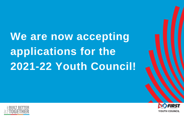 Youth Council Application Button